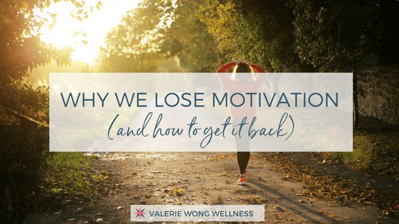 Why we lose motivation (and how to get it back)