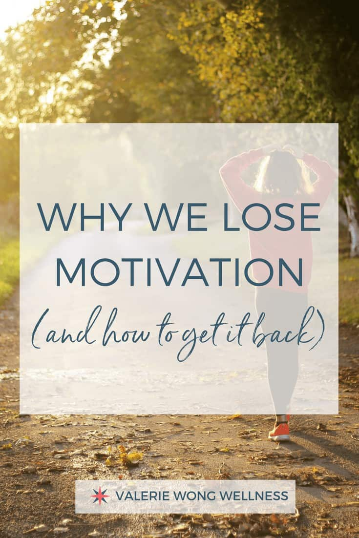 How to get your motivation back!