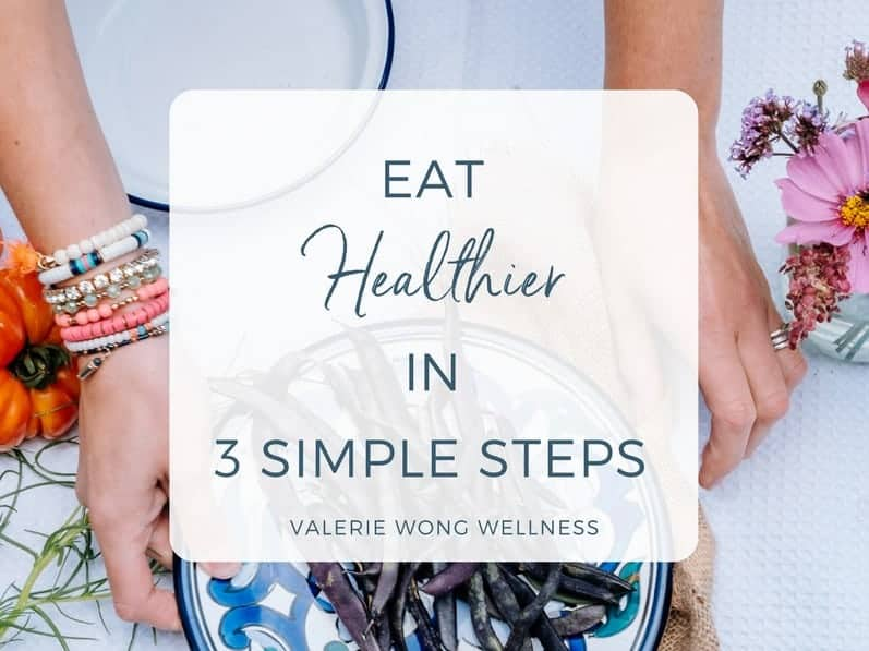 Eat healthier in 3 simple steps