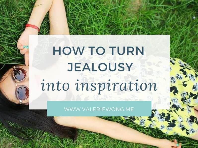 When you're feeling jealous, it means there's something you REALLY want to be/do/have that you haven't achieved yet. I think there are seeds of admiration and respect in all jealousy, so focusing on that aspect of your feelings is the start to turning jealousy into inspiration. Click the pin for more tips on what to do when you're feeling jealous so that you can feel motivated + inspired instead (because inspired feels so much better than jealous!).