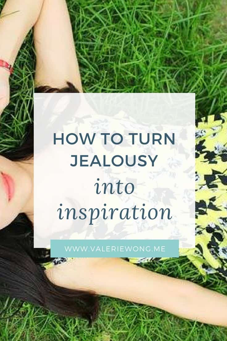 When you're feeling jealous, it means there's something you REALLY want to be/do/have that you haven't achieved yet. I think there are seeds of admiration and respect in all jealousy, so focusing on that aspect of your feelings is the start to turning jealousy into inspiration. Click the pin for more tips on what to do when you're feeling jealous so that you can feel motivated + inspired instead (because inspired feels so much better than jealous!). #inspiration #motivation  via @valeriewonglifecoach