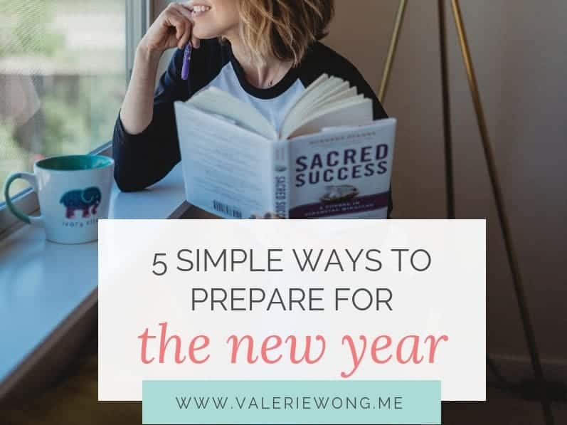 5 simple ways to prepare for the new year