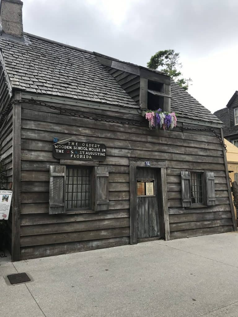 old wooden building - the Oldest Wooden School House