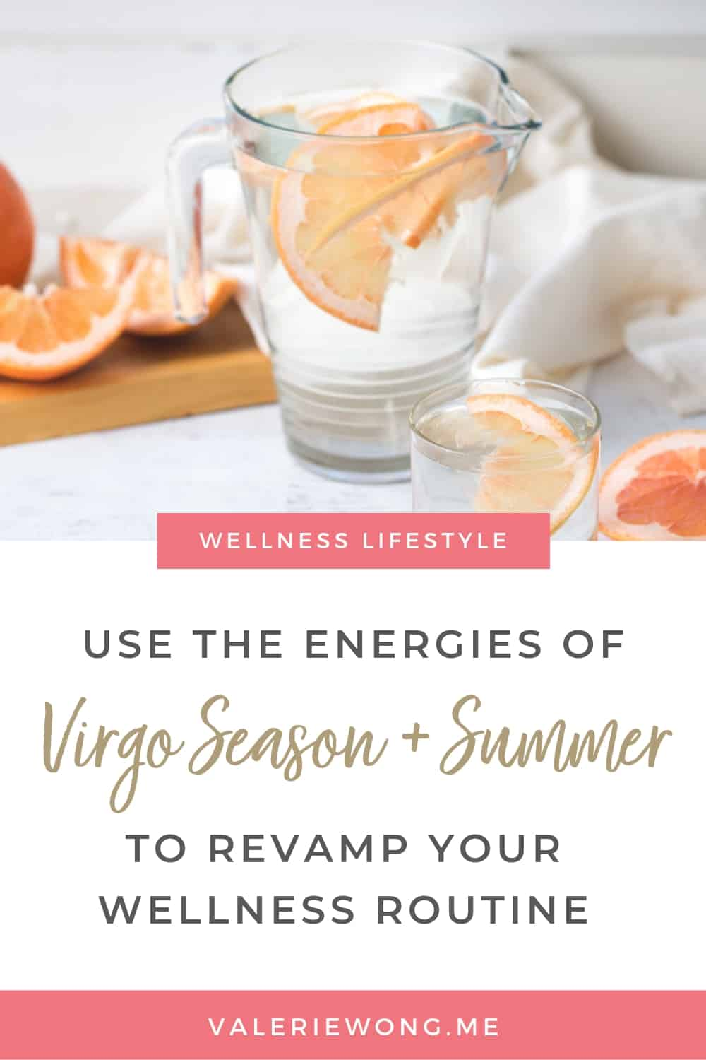 Learn how the combined energies of Virgo Season and Summer can help you start healthy habits and revamp your wellness routine.  via @valeriewonglifecoach
